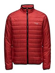 Quiltedsportsjacket - RED
