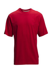Basic o-neck tee - MARS RED