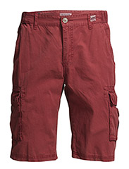 Cargo shorts - DK RED