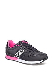 R400 Low Ctr W - BLACK/FUCHSIA