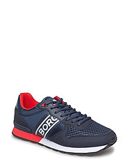 R400 Low Ctr M - NAVY/RED