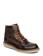 Marvin Z Mid Fur M - DARK BROWN