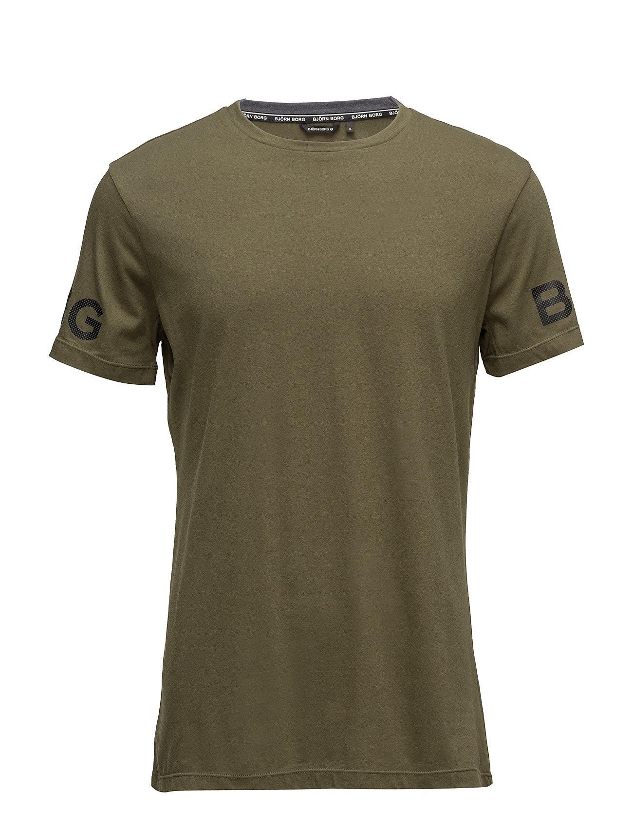 1p Tee Alvin Bjˆrn Borg Løbe t-shirts til Herrer i