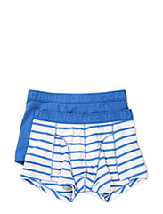 SHORT SHORTS, BB Melange Stripe, 2-P - Strong Blue