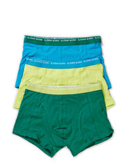 SHORT SHORTS, Basic Seasonal Solids Contrast, 3-P - Ultramarine Green