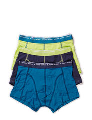 SHORT SHORTS, Basic Seasonal Solids Contrast, 3-P - Mood Indigo
