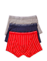 SHORT SHORTS, Basic Pinstripe, 3-P - High Risk Red
