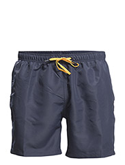 LOOSE SHORTS, Seasonal Solids SW, 1-P - Mood Indigo