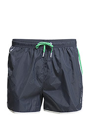 LIGHT GYM SHORTS, Light Woven Solids, 1-P - Mood Indigo
