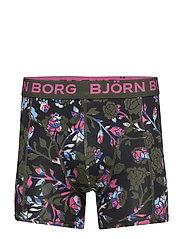 1p SHORTS BB FLORAL - ROSIN