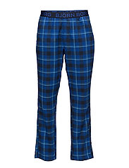 1p PYJAMA PANT BB CHECKED - TOTAL ECLIPSE