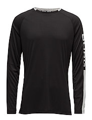 1p LONG SLEEVE TEE AARON - BLACK BEAUTY