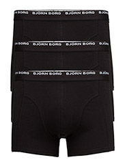 SHORT SHORTS, NOOS Basic, 3-P - Black