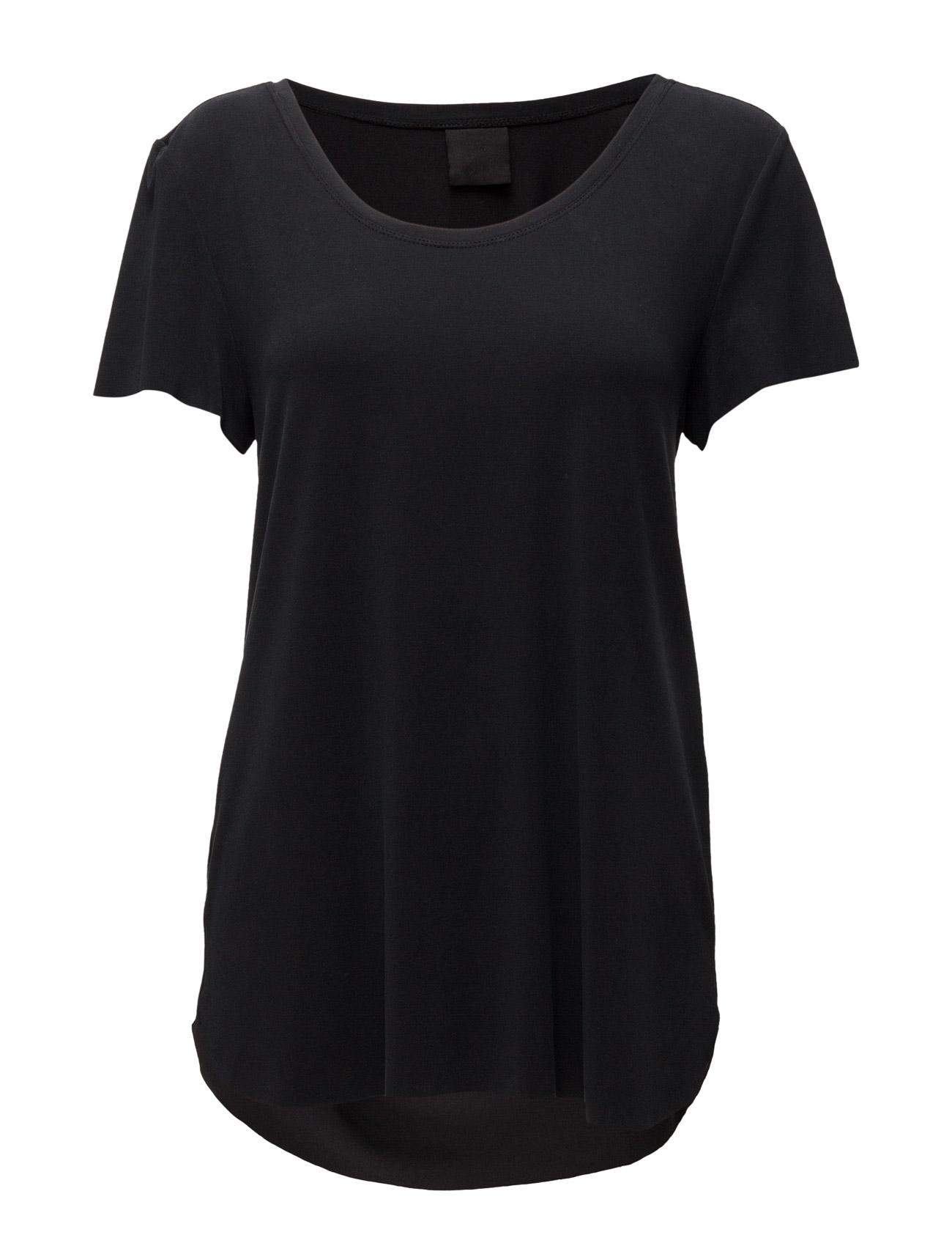 Pacey T-Shirt Black Lily Kortærmede til Kvinder i Sort