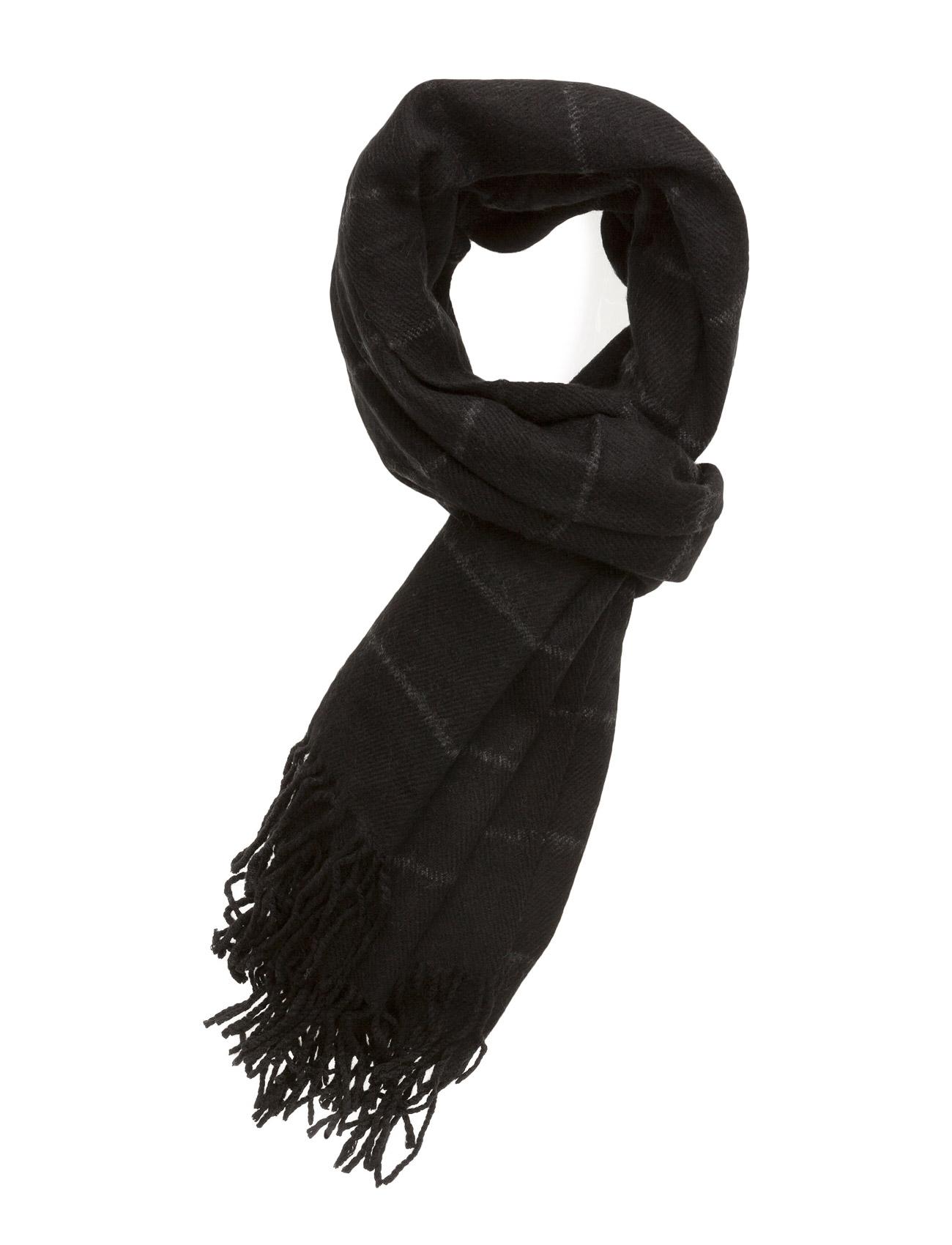 Rude Scarf Black Lily Halstørklæder til Damer i Sort