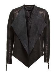vasim blazer - black