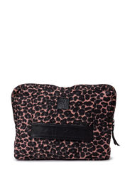 Klio canvas small bag - leopard