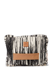 Klio canvas small bag - stripes