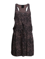 Kaiser dress - rose leopard