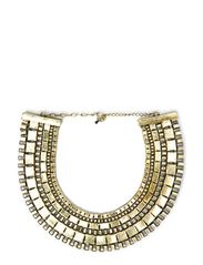 soorat necklace - antique gold