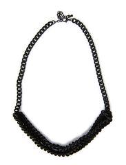 vilma necklace - black