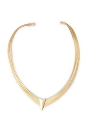 vigga necklace - mat gold