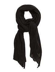 alma small scarf - black