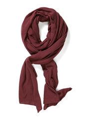 alma small scarf - rose brown