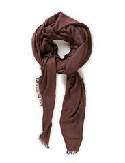 rio scarf - aubergine