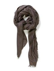 rio scarf - dark grey melange