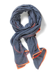 stardust scarf - dusty blue
