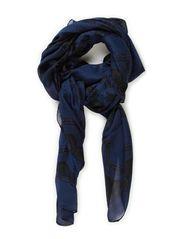 vaza scarf - navy blue