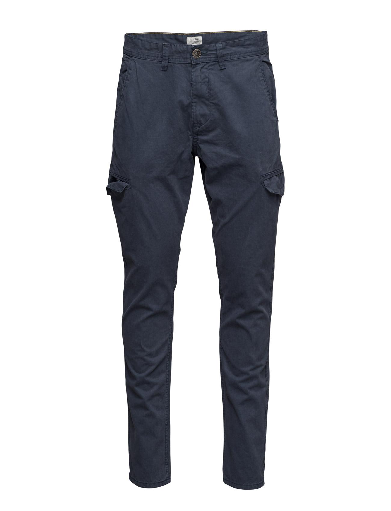 Pants Blend Casual sko til Mænd i Navy blå
