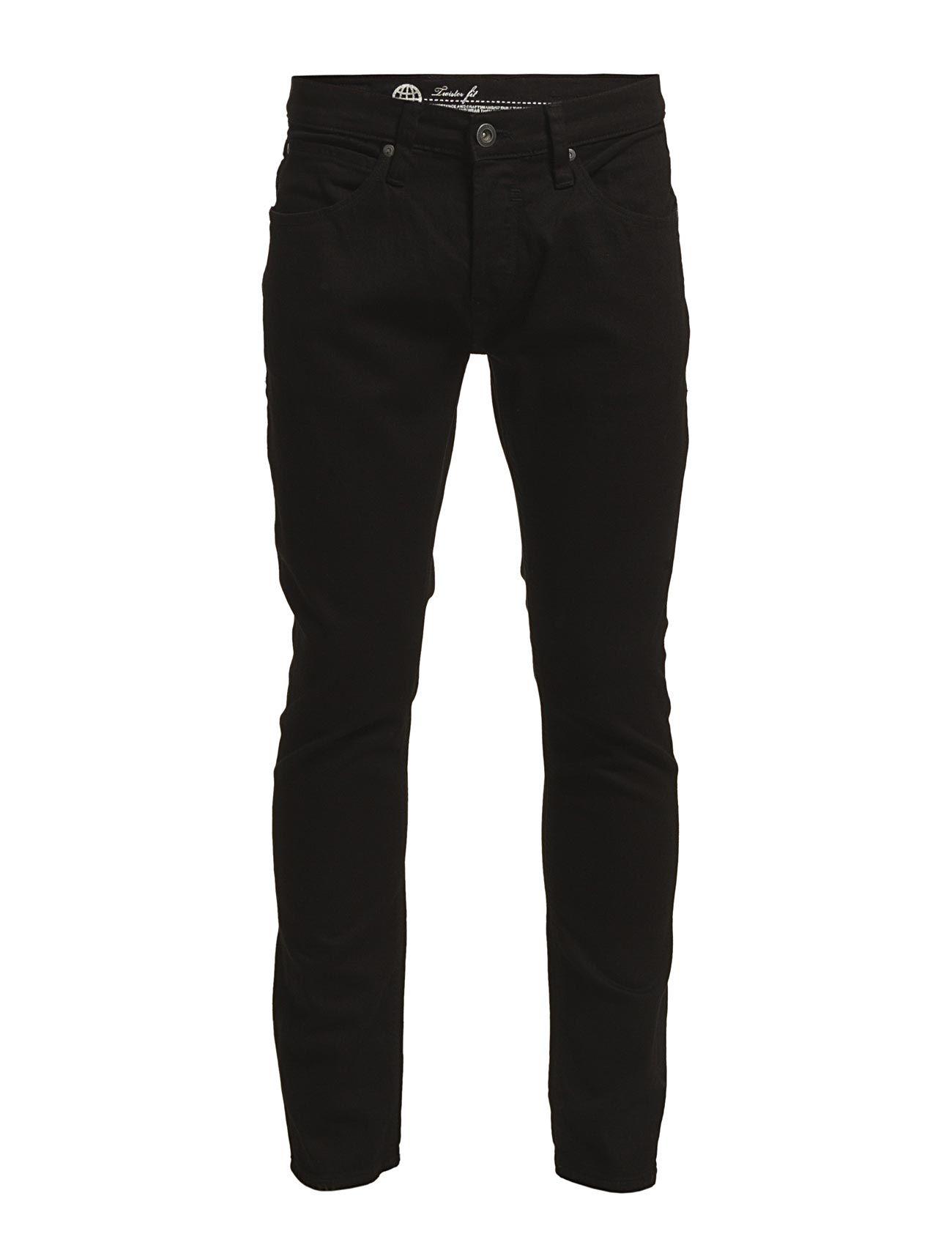 Jeans - Noos Twister Fit Blend Almindelig til Mænd i Sort