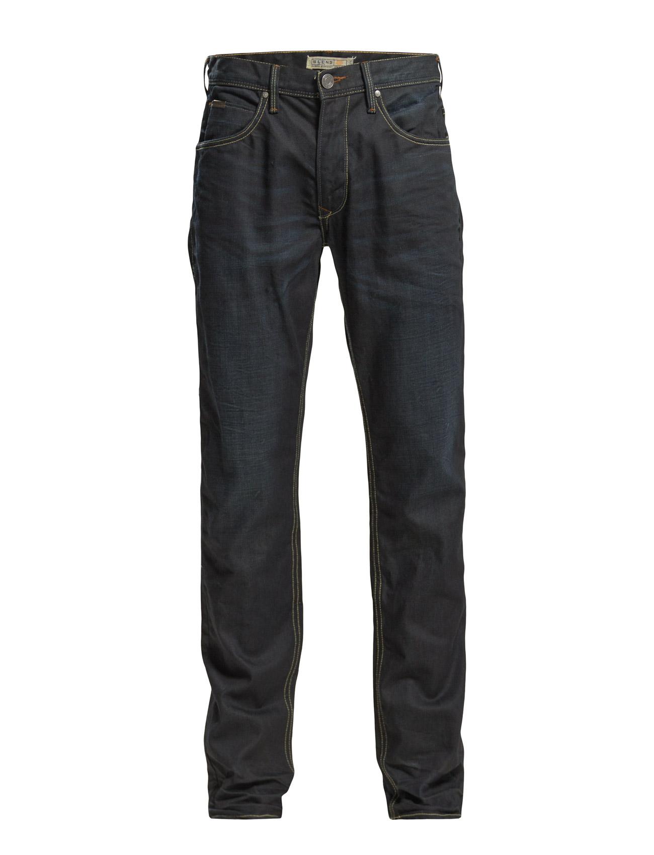 Jeans - Noos Rock Fit Blend Almindelig til Mænd i Klar blå
