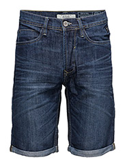 Denim shorts - DENIM DARKBLUE