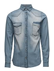 Shirt - NIAGARA BLUE