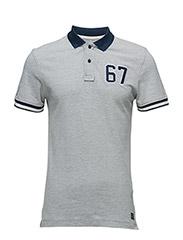 Polo T-shirt - STONE MIX