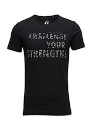 T-shirt Athletics - BLACK