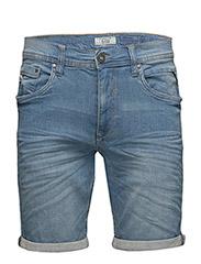 Denim shorts - MIDDLE BLUE