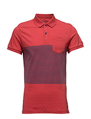 Polo T-shirt - BRIGHT RED