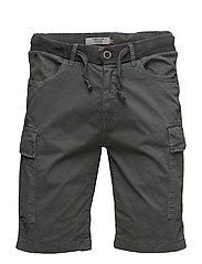 Non denim shorts - GRANITE