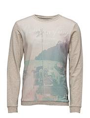 Sweatshirt - SAND MIX