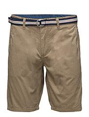 Shorts - SAFARI BROWN