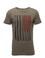 T-shirt - BURNT OLIVE