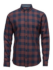Shirt - RUST RED