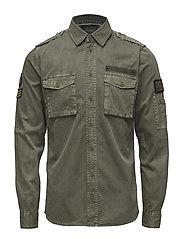 Shirt - BURNT OLIVE