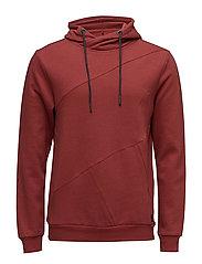 Sweatshirt - RUST RED