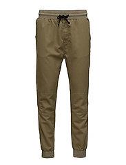 Jogg Jeans - BURNT OLIVE