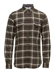Shirt - PEAT GREEN
